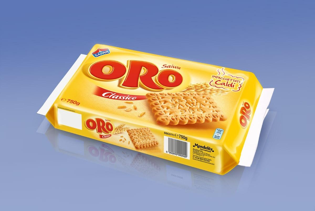 Oro Saiwa - Galletas - Branding y Packaging