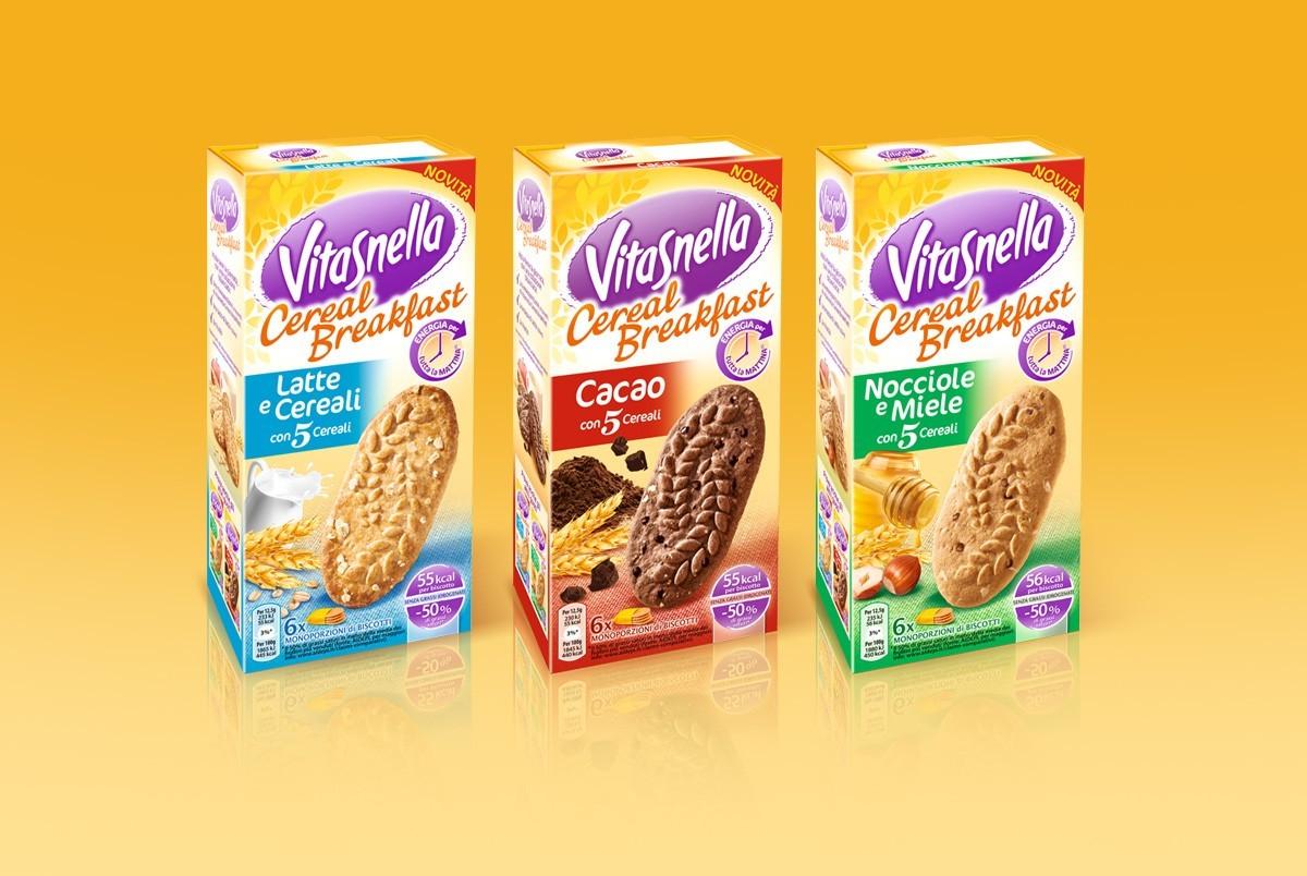 Vitasnella - Galletas - Branding y Packaging