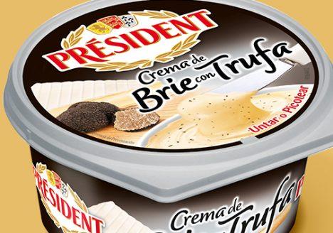 Crema de quesos President