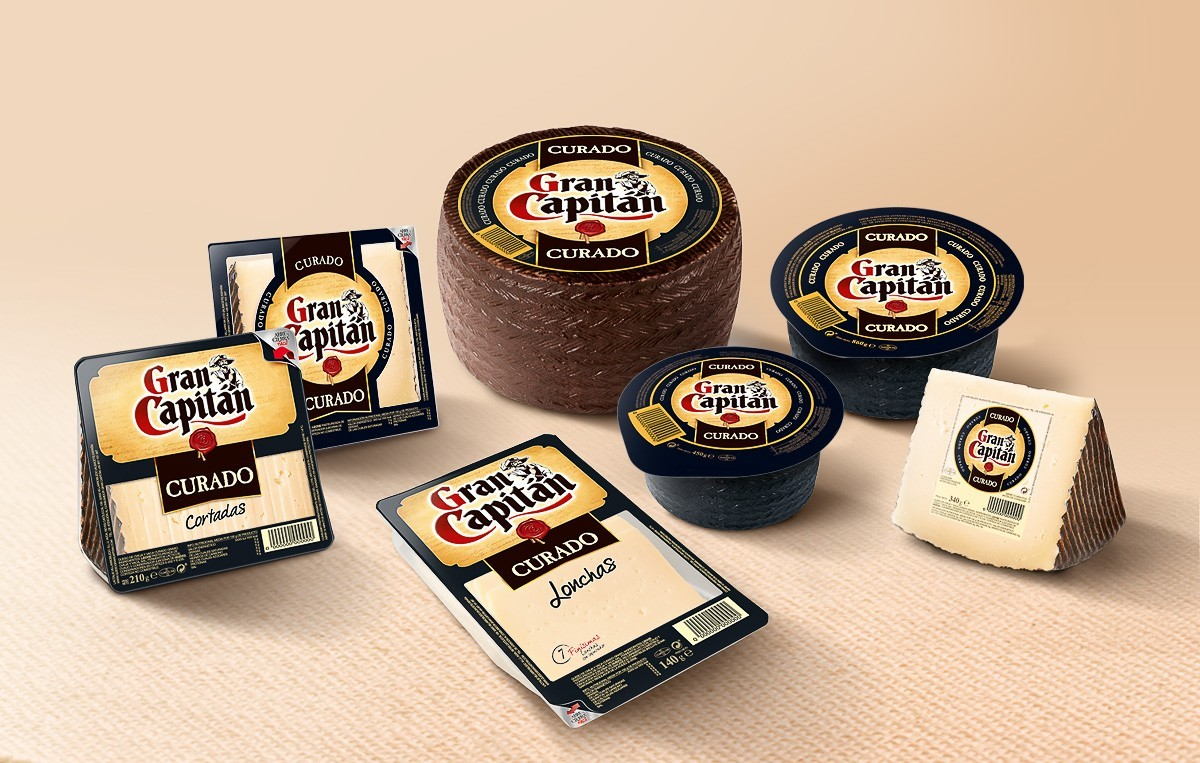 Gran Capitan - Queso - Branding y Packaging