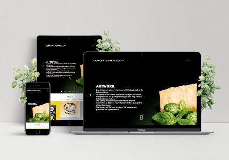 Diseño web – Etform
