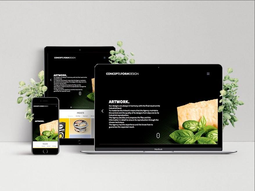 Diseño web - Etform